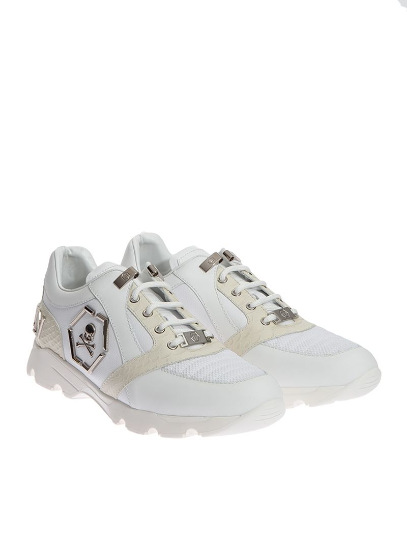 Philipp Plein Runner Hanzo Leather Sneakers