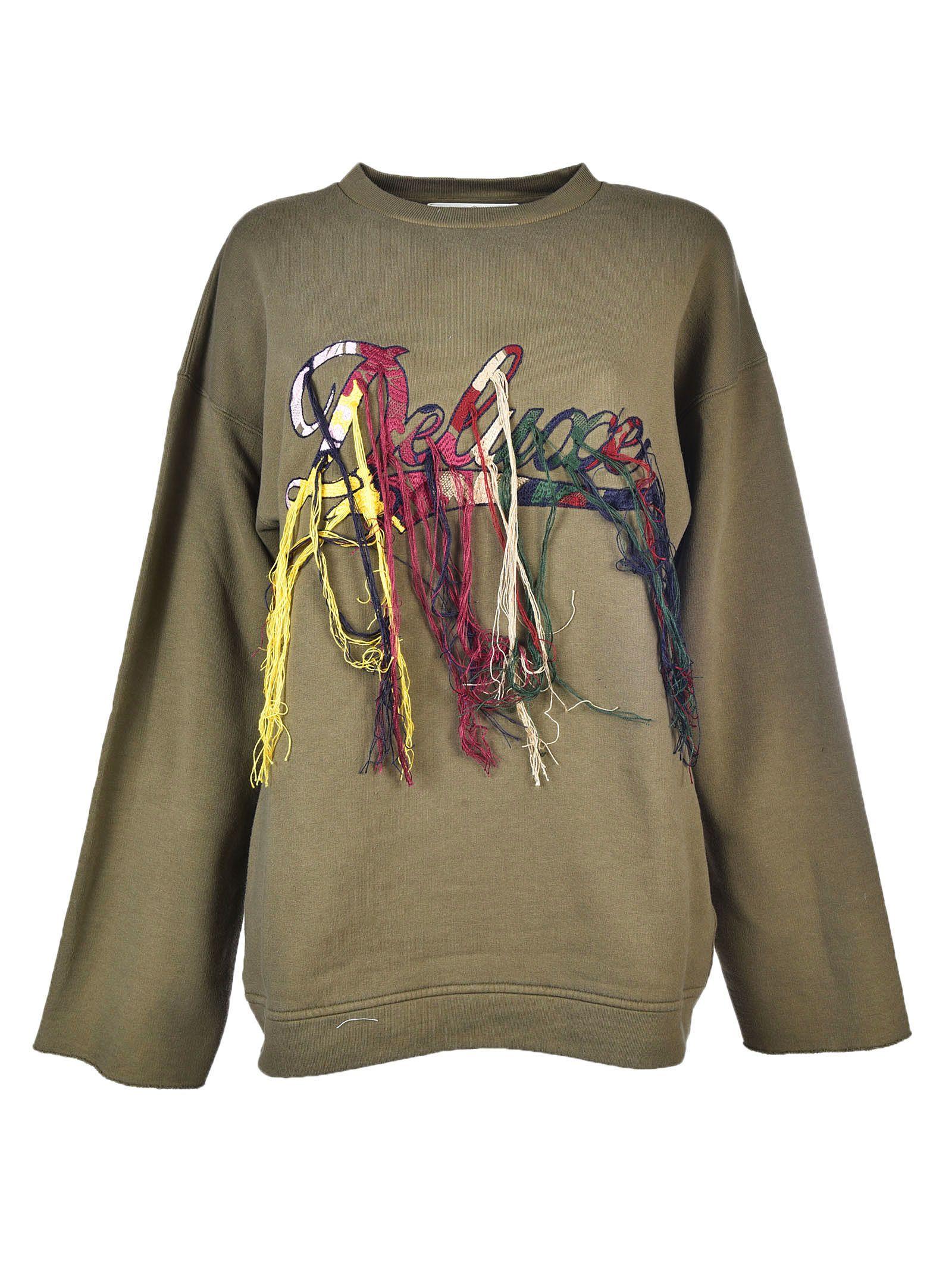 Golden Goose Embroidered Deluxe Sweatshirt
