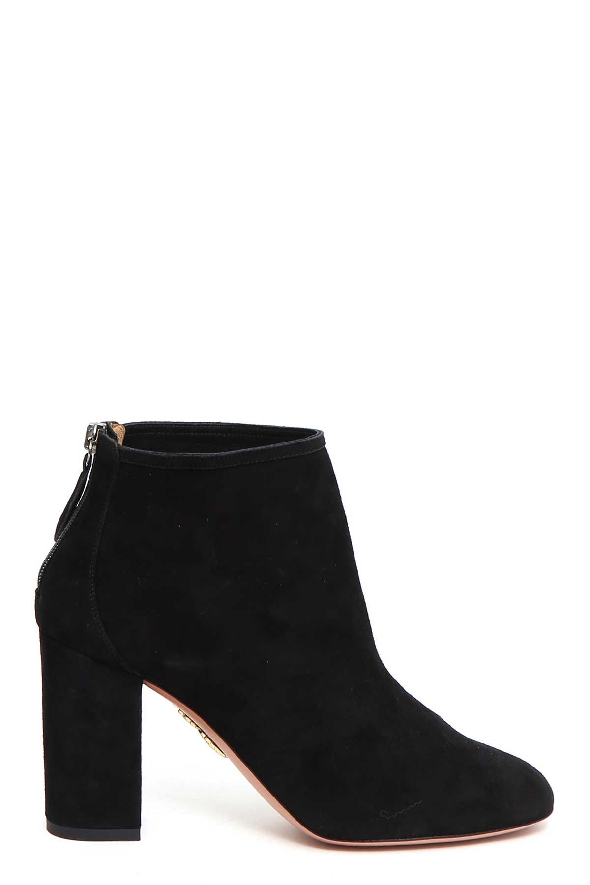 Aquazzura downtown Suede Bootie