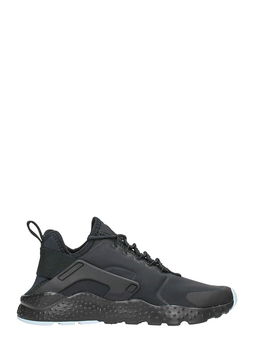Nike Huarache Run Black Neoprene Fabric Sneakers