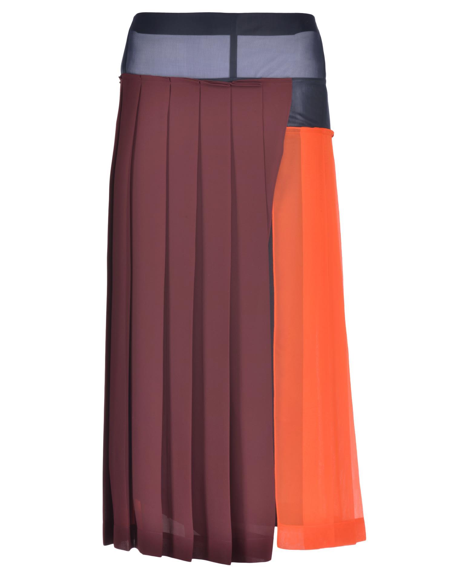 Victoria Beckham Georgette Pleated Skirt