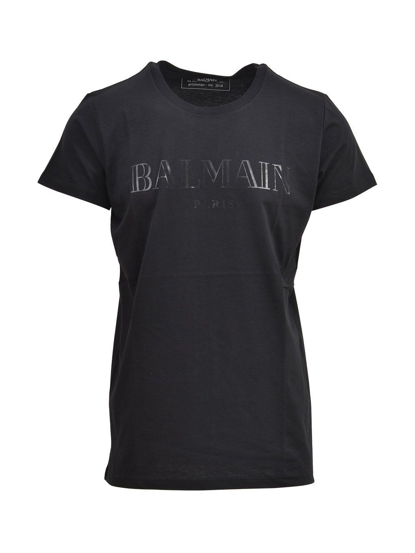 Balmain Balmain Black T-shirt