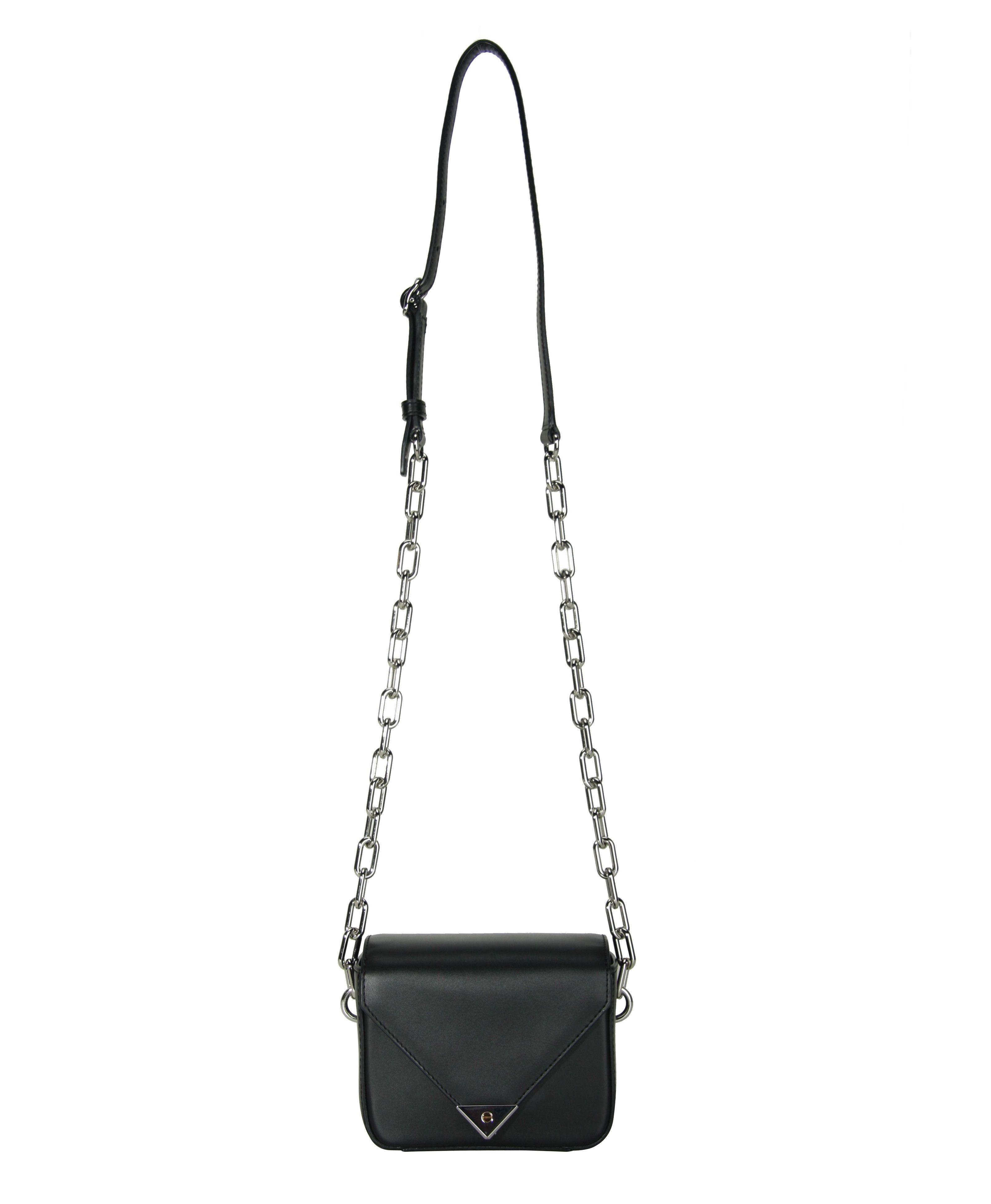 Alexander Wang Black Chain Cross Body Prisma Bag