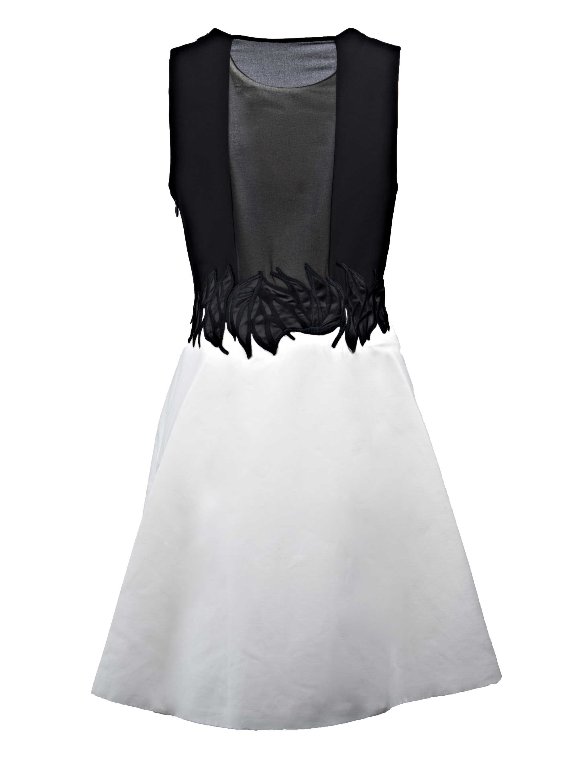 Halston TWO-TONE DRESS