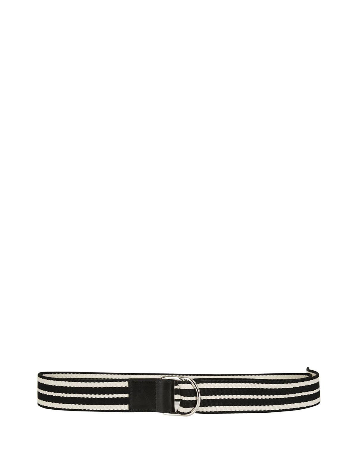 Red Valentino Striped Belt