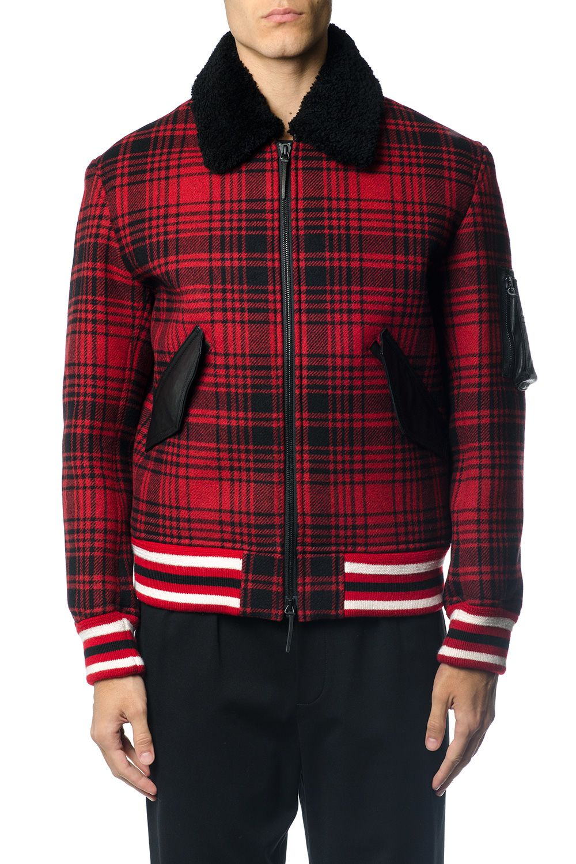 Tommy Hilfiger Tartan Check Down Jacket