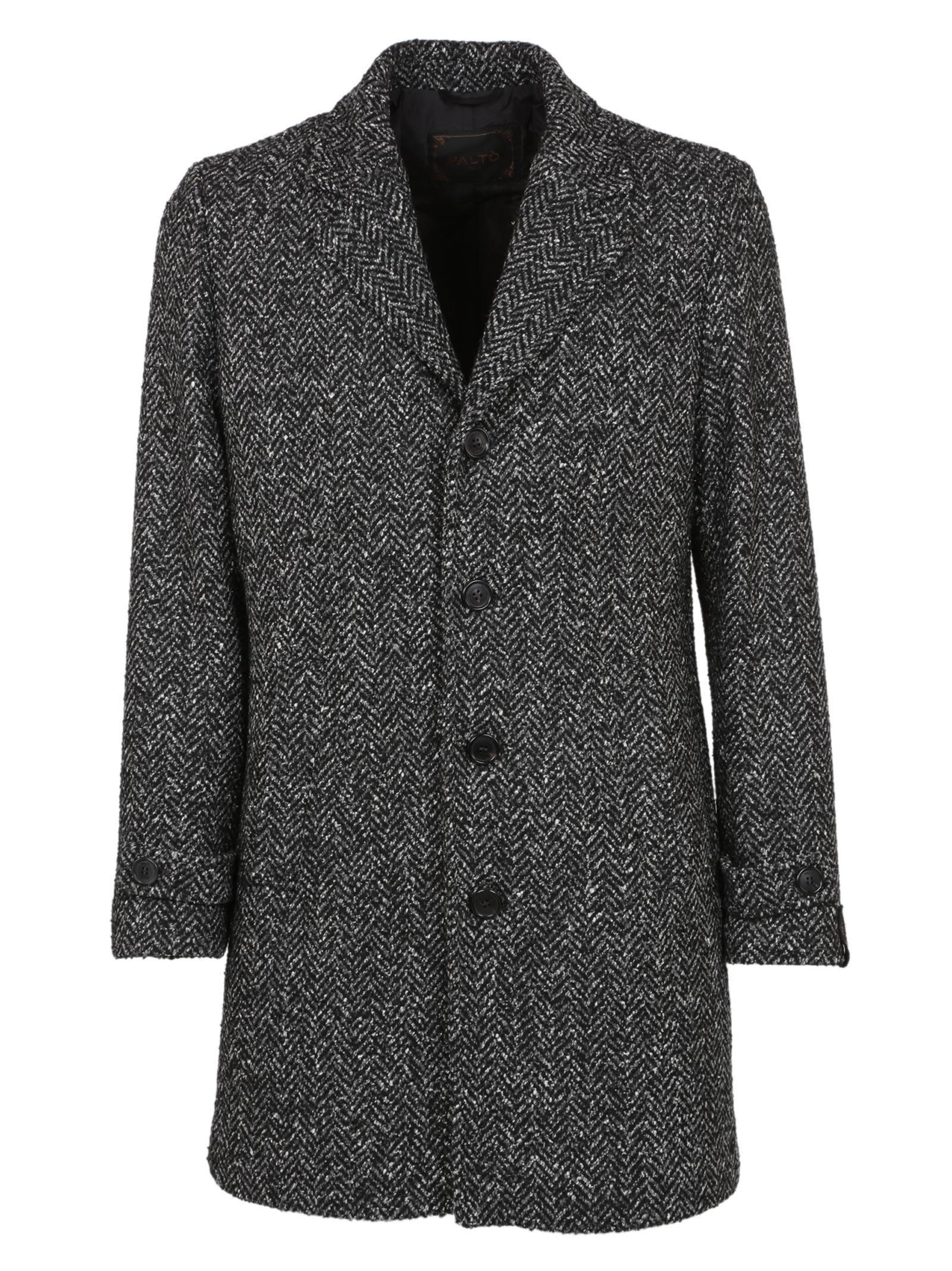 Palto Patterned Coat