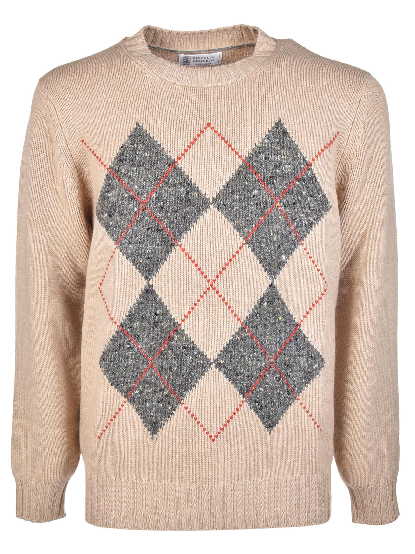 Brunello Cucinelli Patterned Sweater