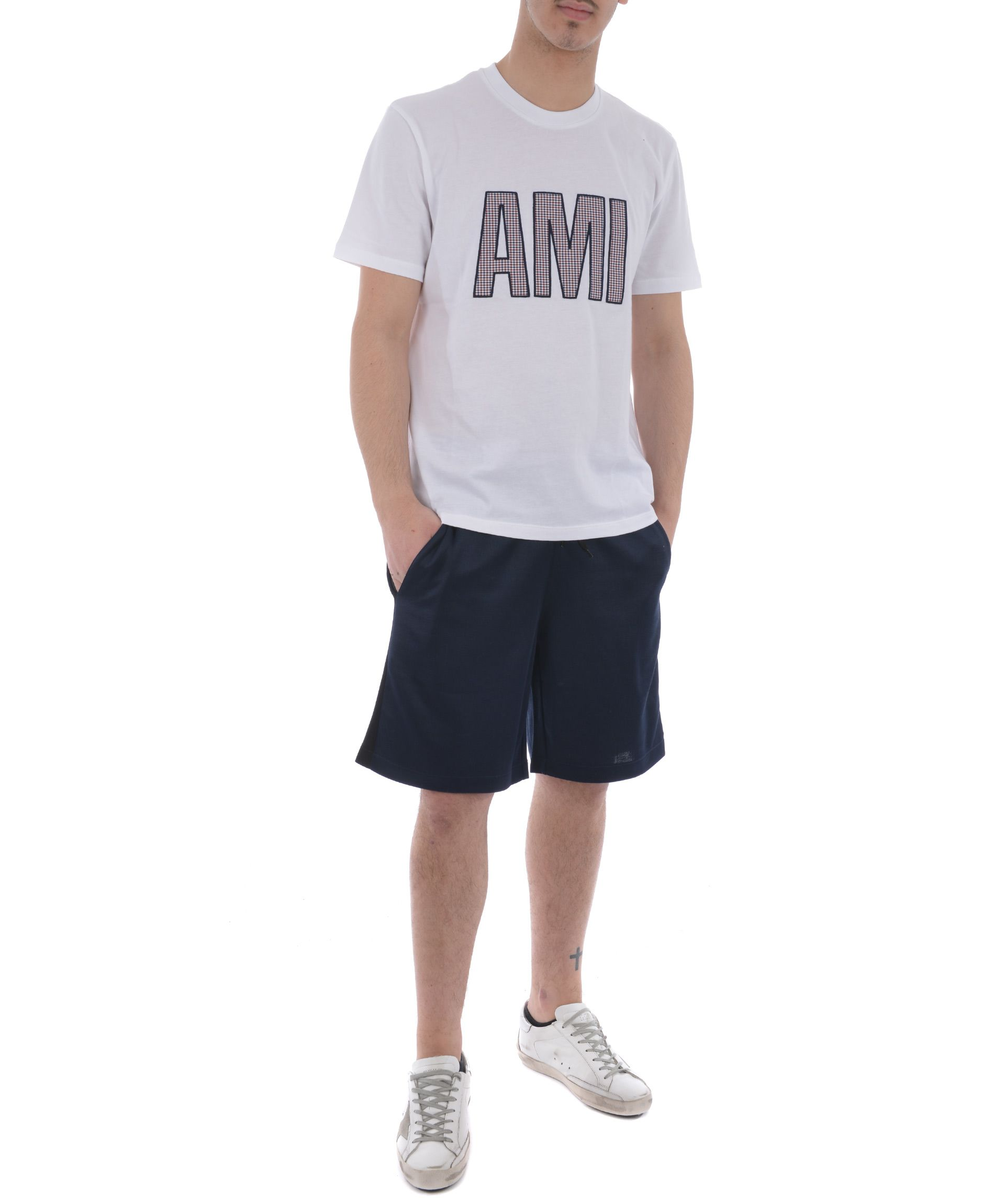 Ami Alexandre Mattiussi Crew Neck T-shirt