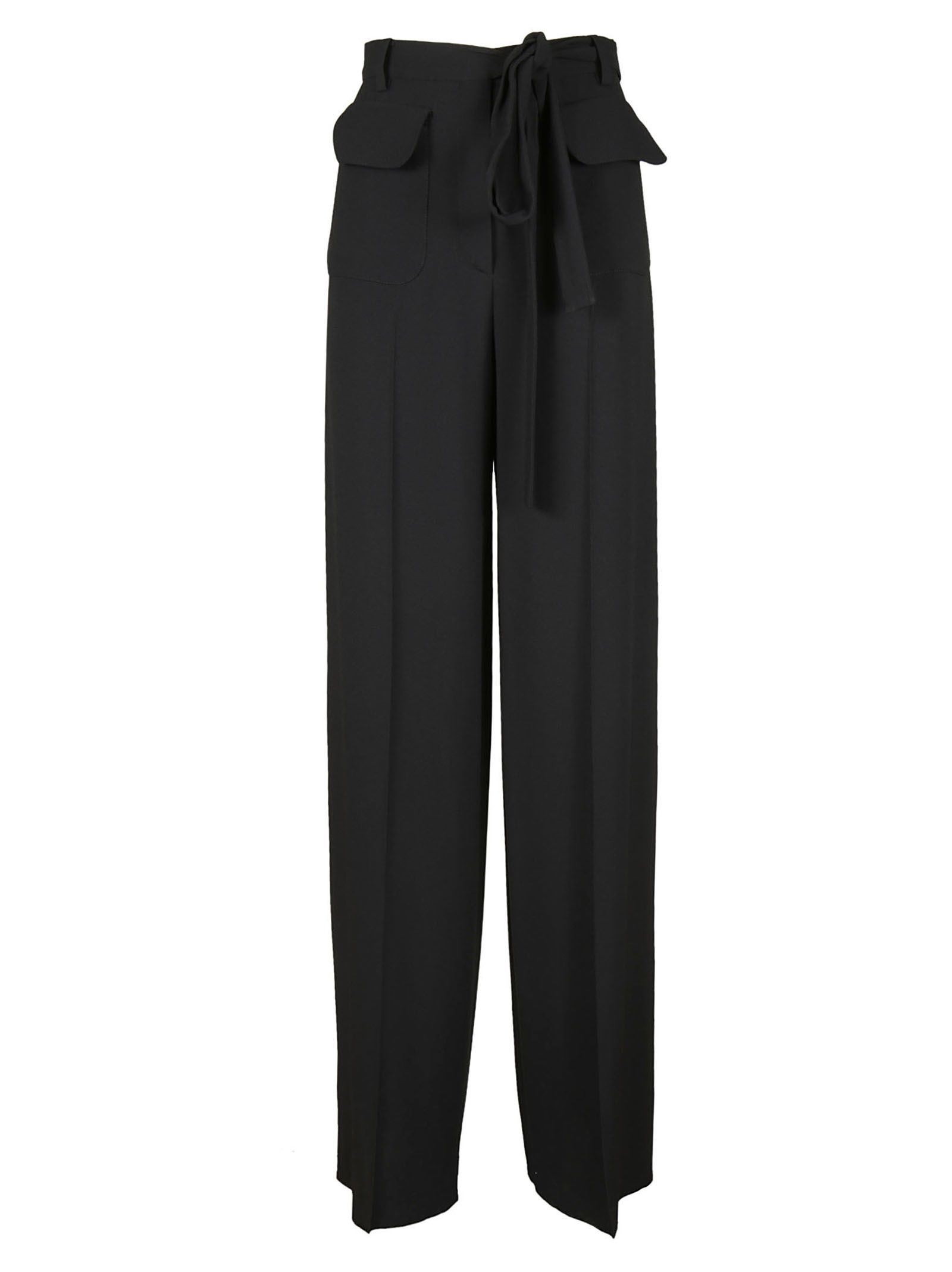 Valentino Belted Bow Trousers