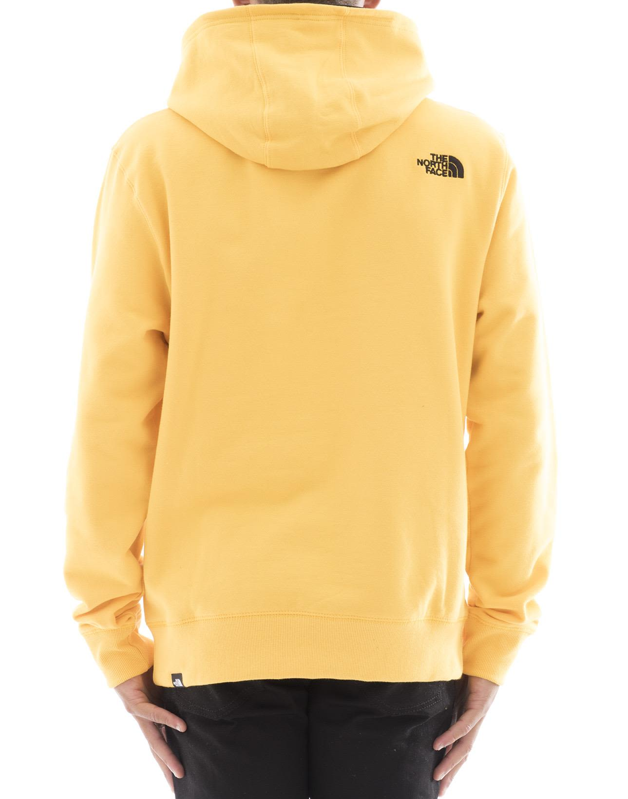 The North Face - Yellow Cotton Sweater - Yellow, Men's Sweaters ...