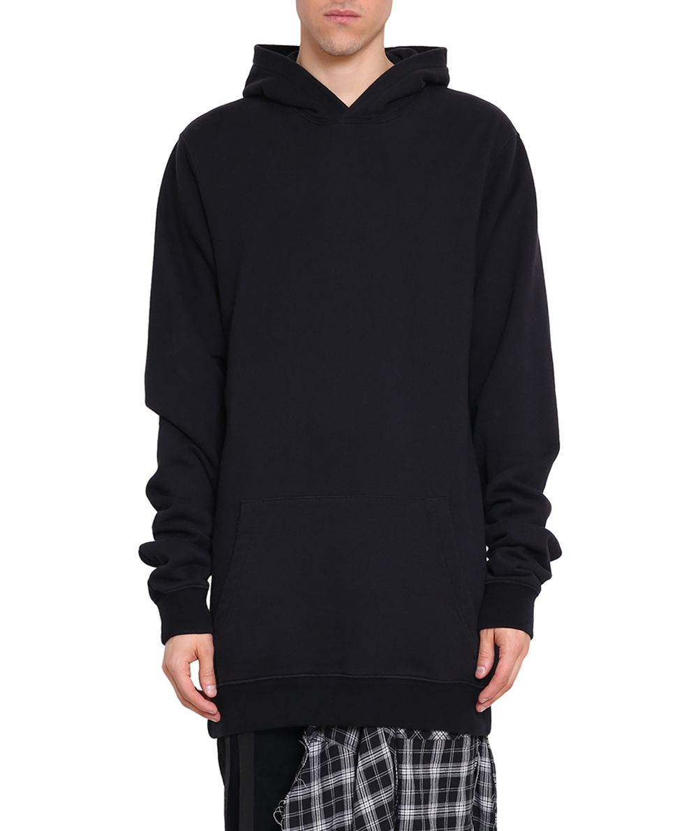 Ben Taverniti Unravel Project Street Chaos Distorted Cotton Hoodie