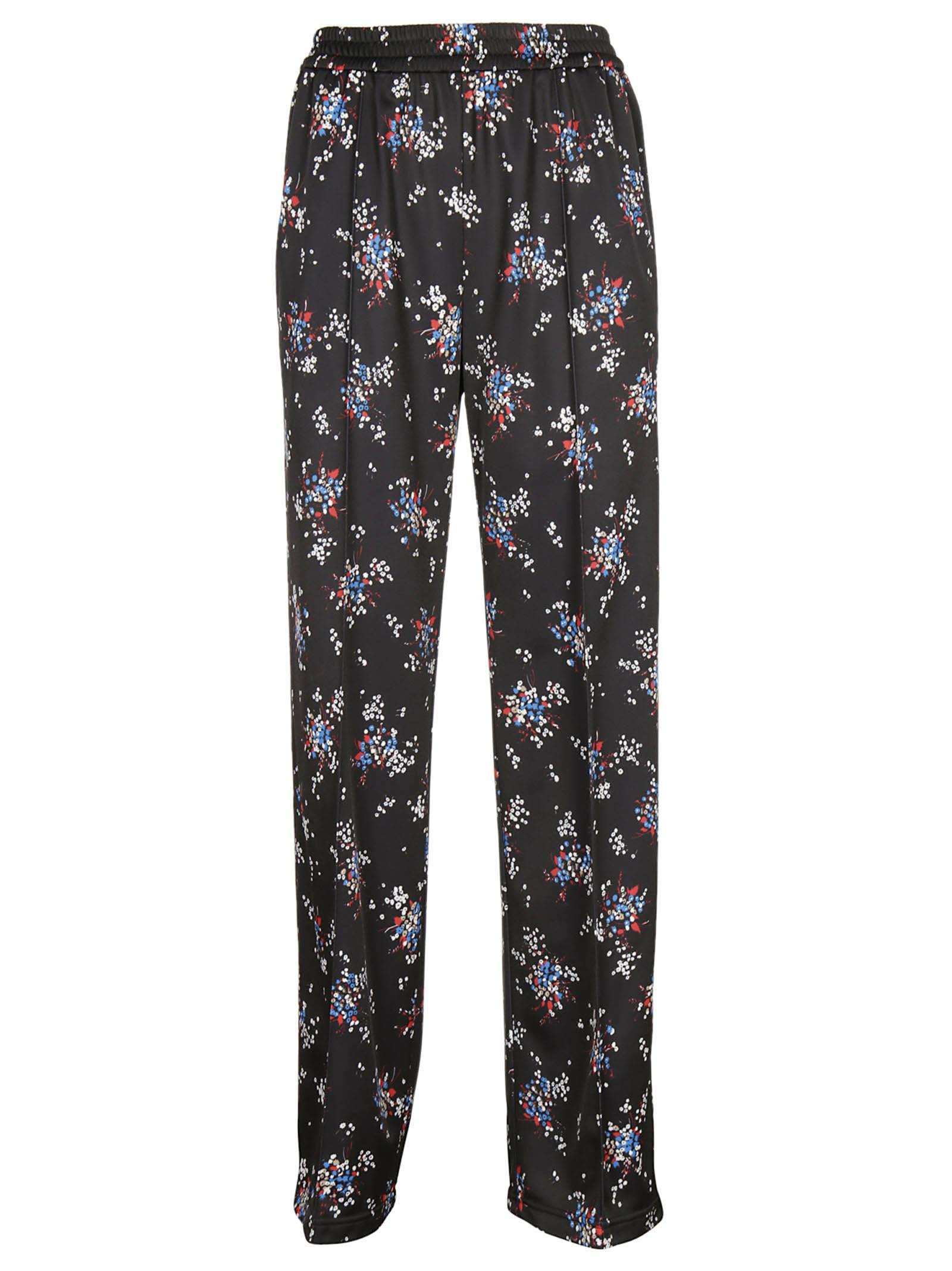 Msgm Floral Printed Track Pants