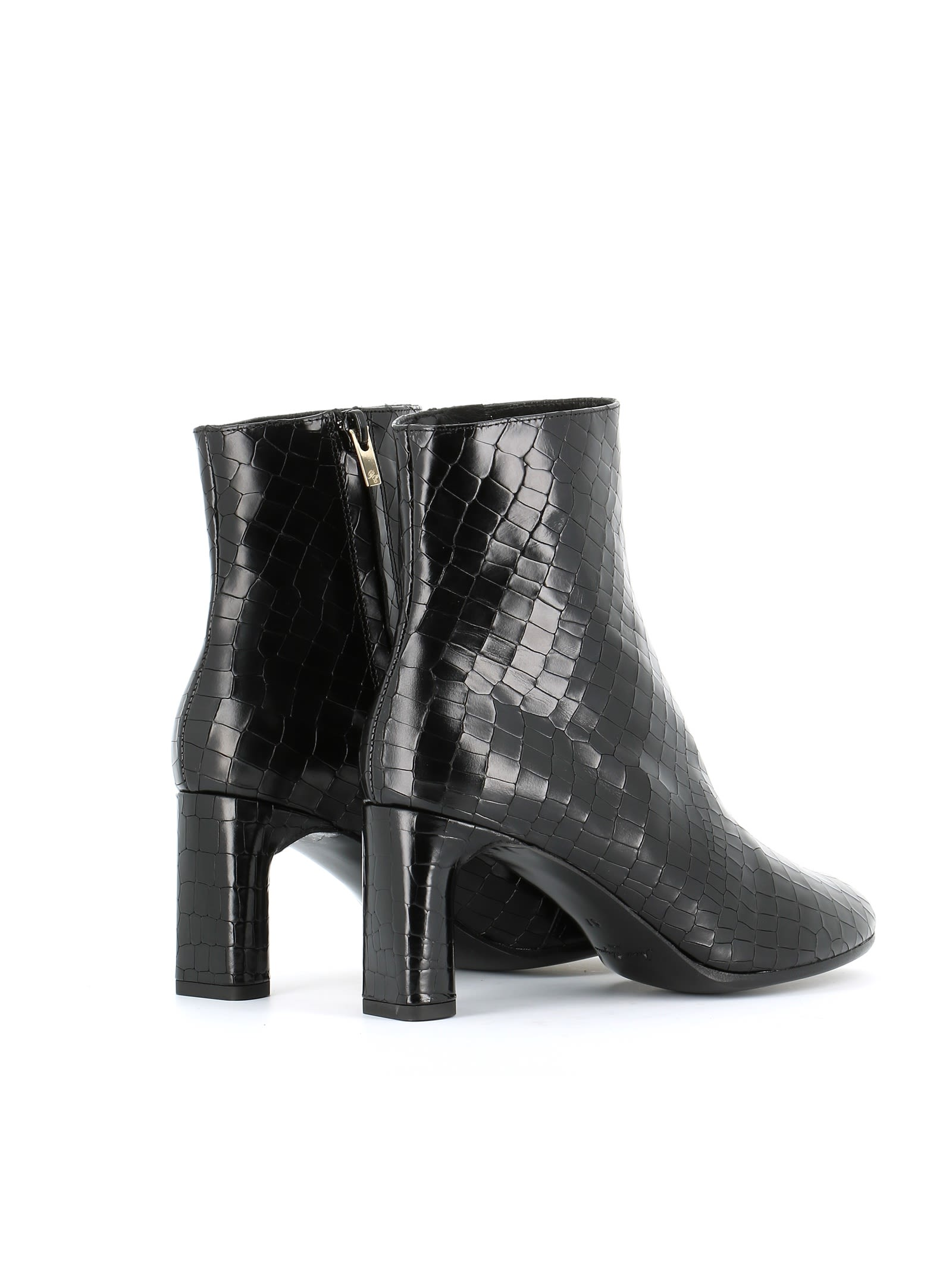 Robert Clergerie elte Zipped Ankle Boots