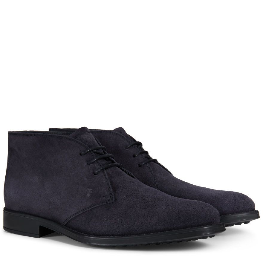Suede Ankle Lace Ups