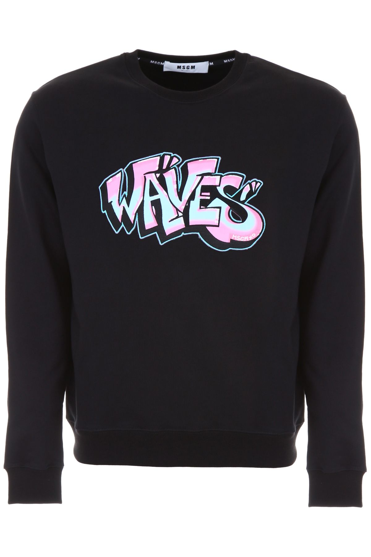 Sweatshirt With Waves Patch