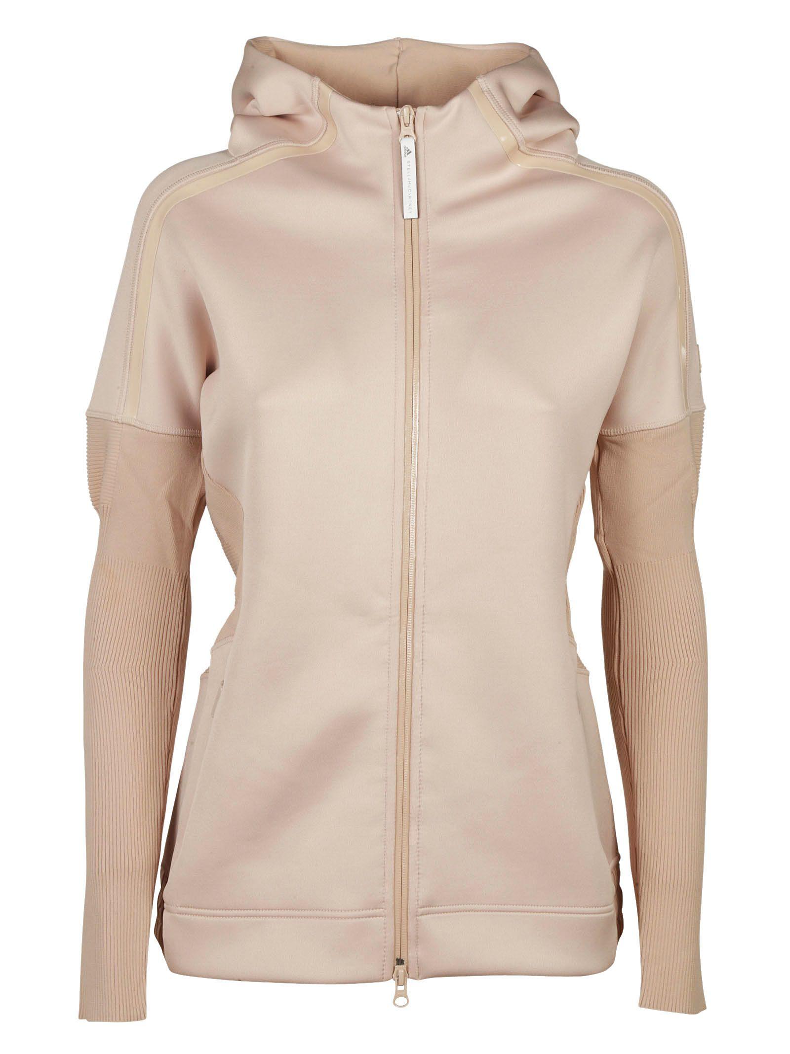 Adidas By Stella Mccartney Women S Sweatshirt Hood Hoodie In Pink ... 120cec88f4