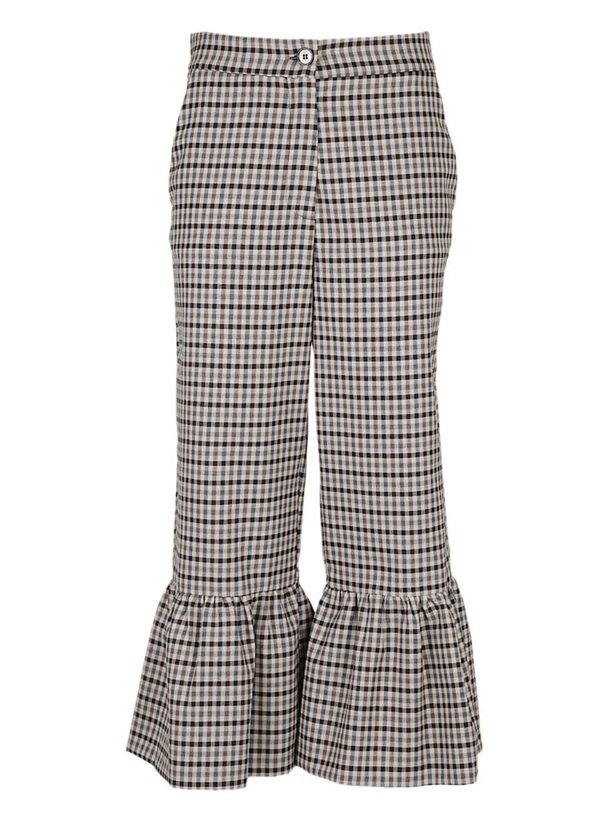 Erika Cavallini Checked Trousers