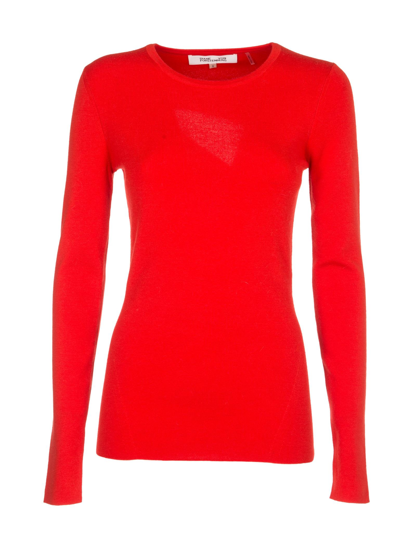 Diane Von Furstenberg - Diane Von Furstenberg Crew Neck Fitted ...