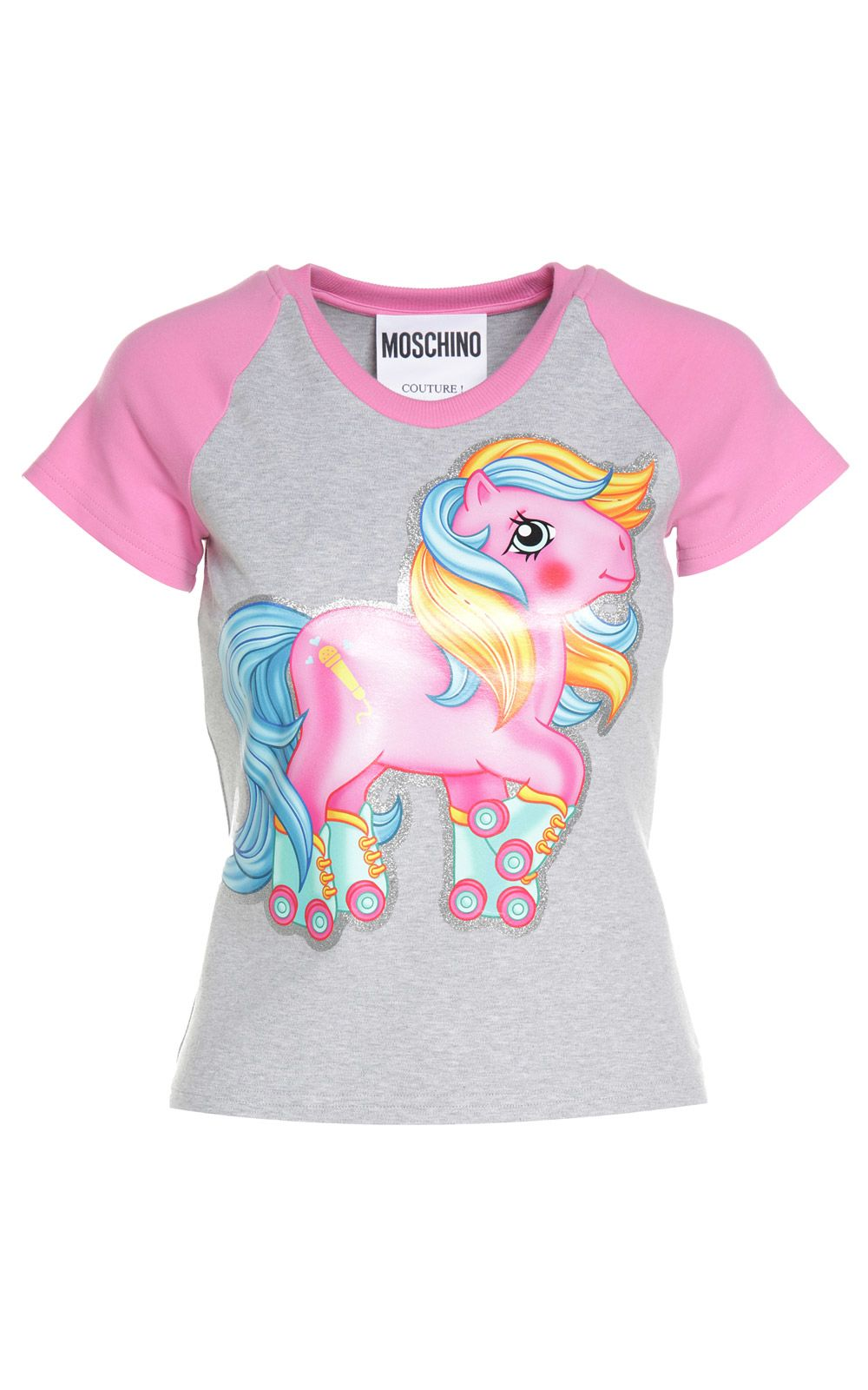Moschino My Little Pony Two-tone Cotton-jersey T-shirt