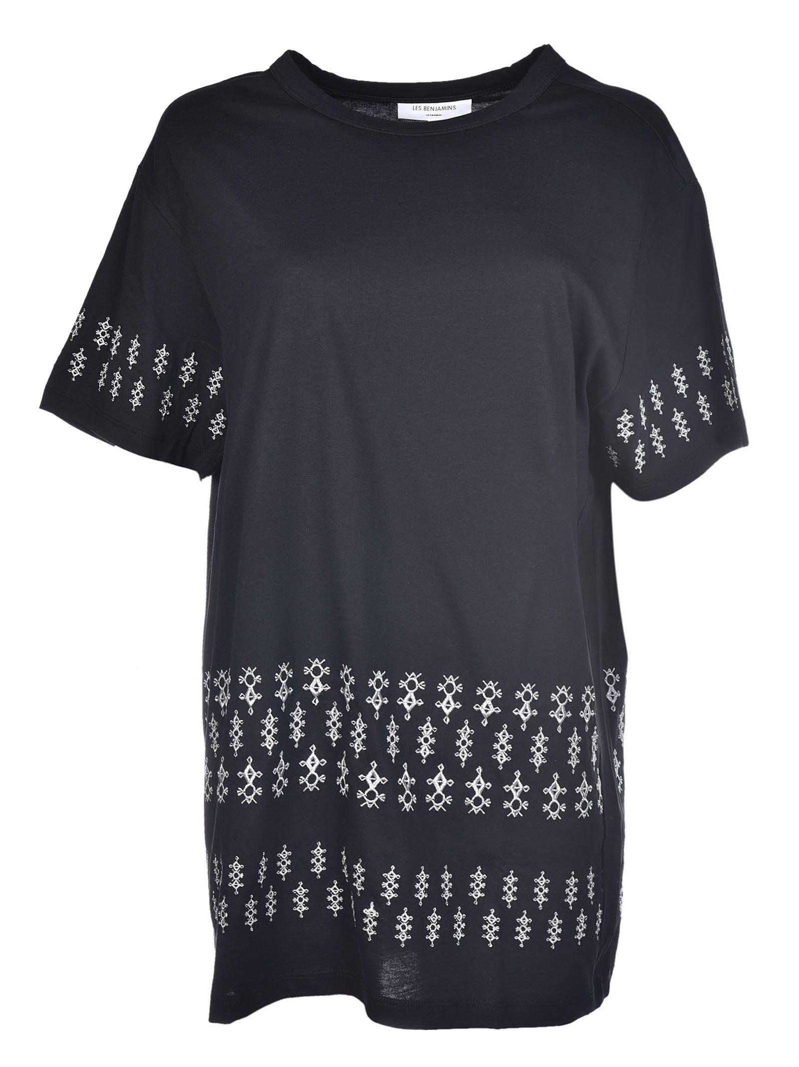 Les Benjamins Be Famous Or Die Cotton Jersey T: Les Benjamins Printed T-shirt