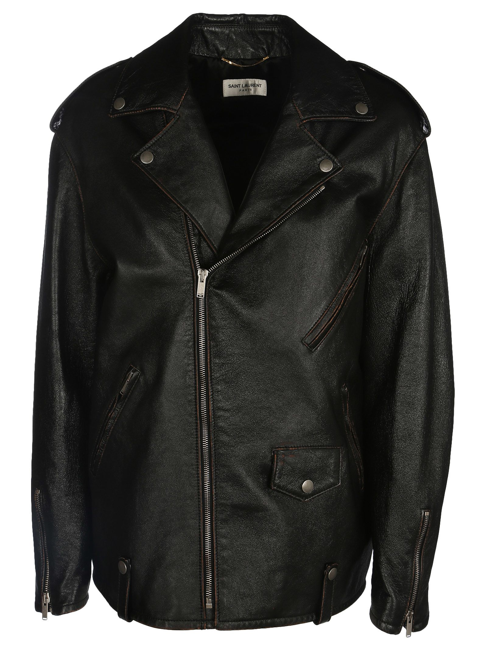 Saint Laurent Oversized Zip Jacket