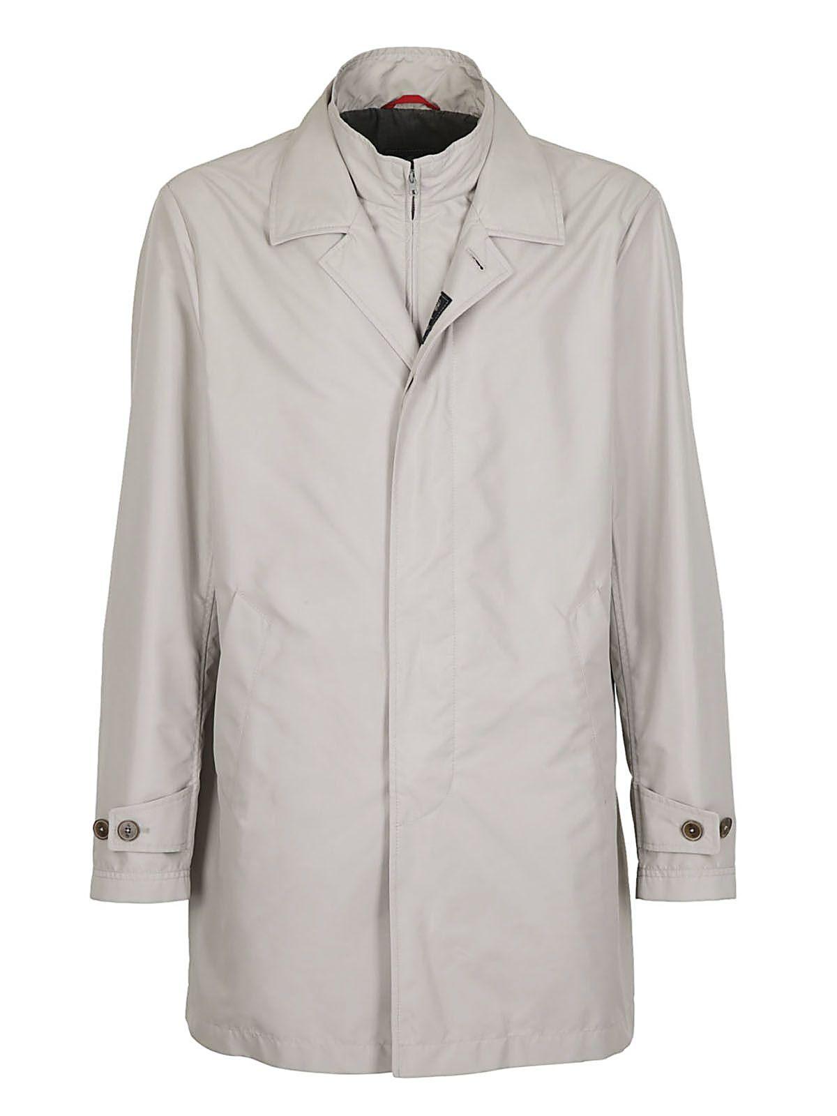 Fay Button Down Raincoat