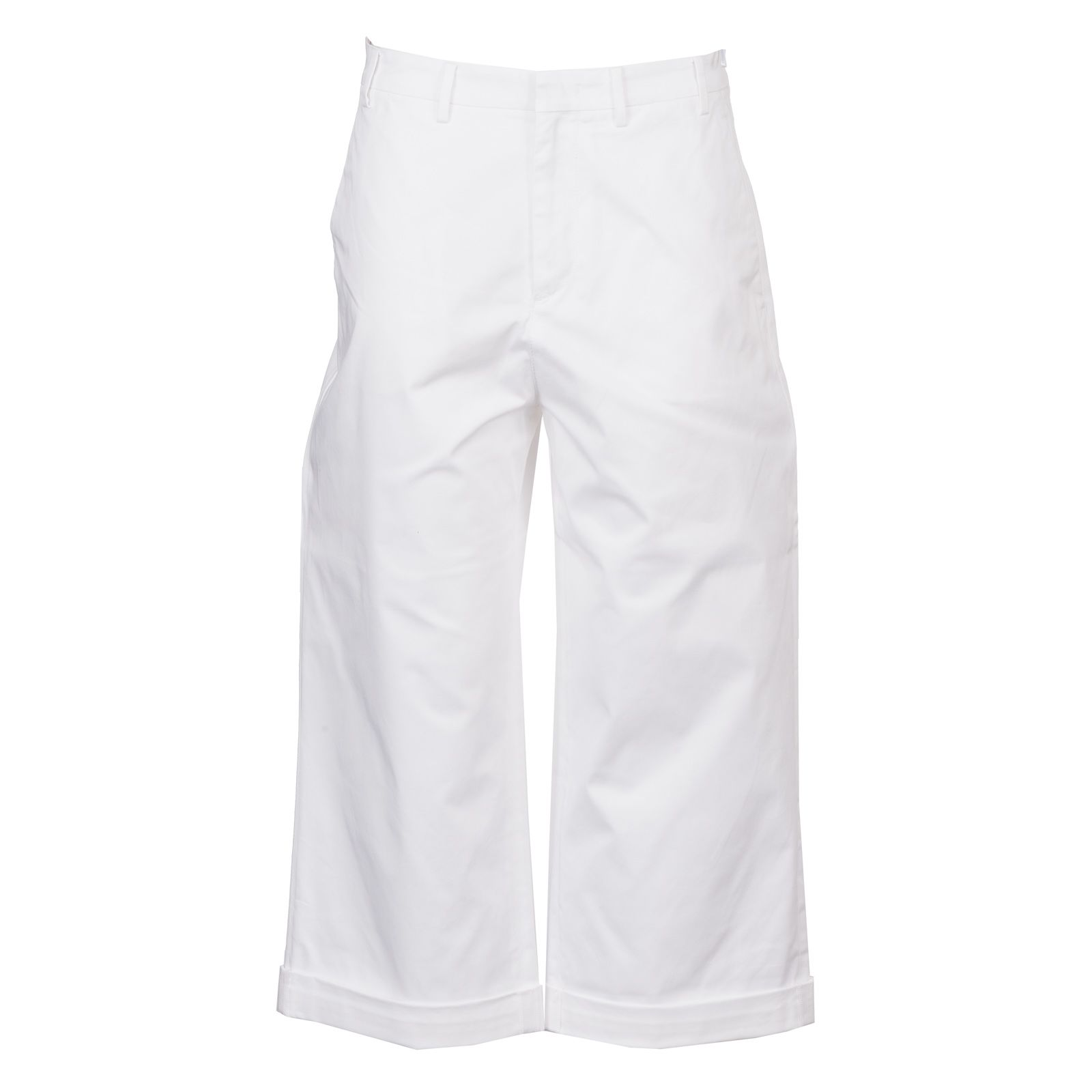 No21 Flared Cropped Trousers