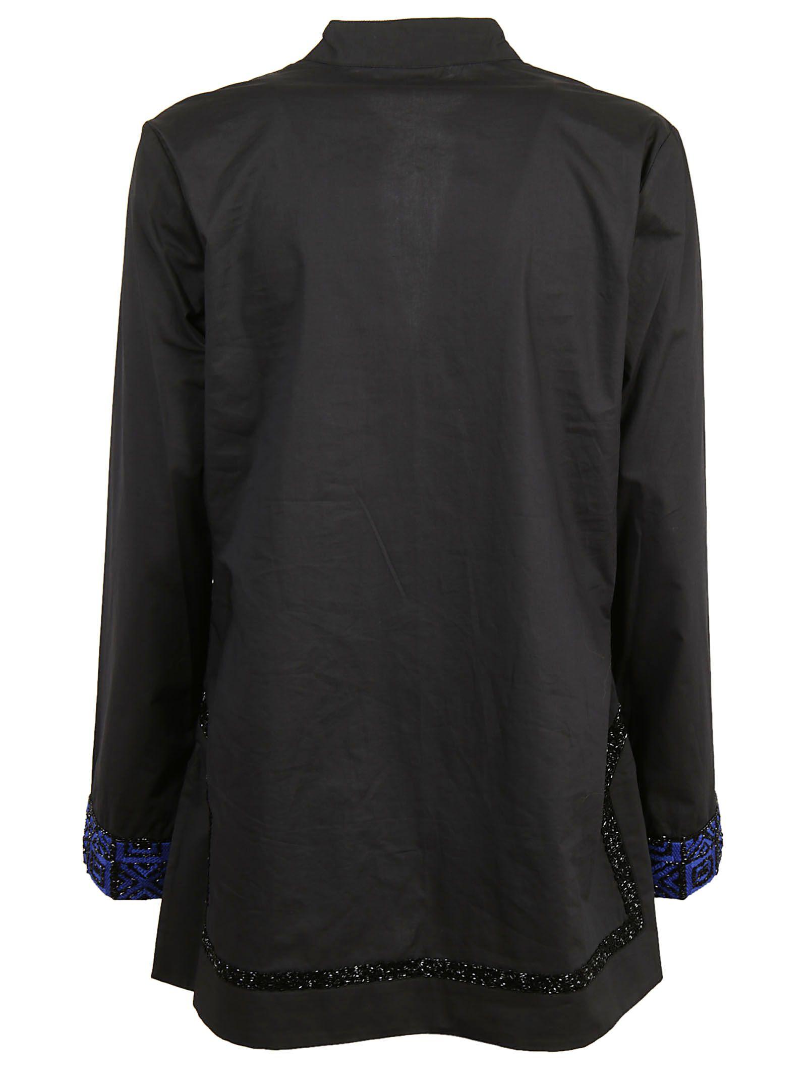 Tory Burch Embellished Tory Tunic Shirt