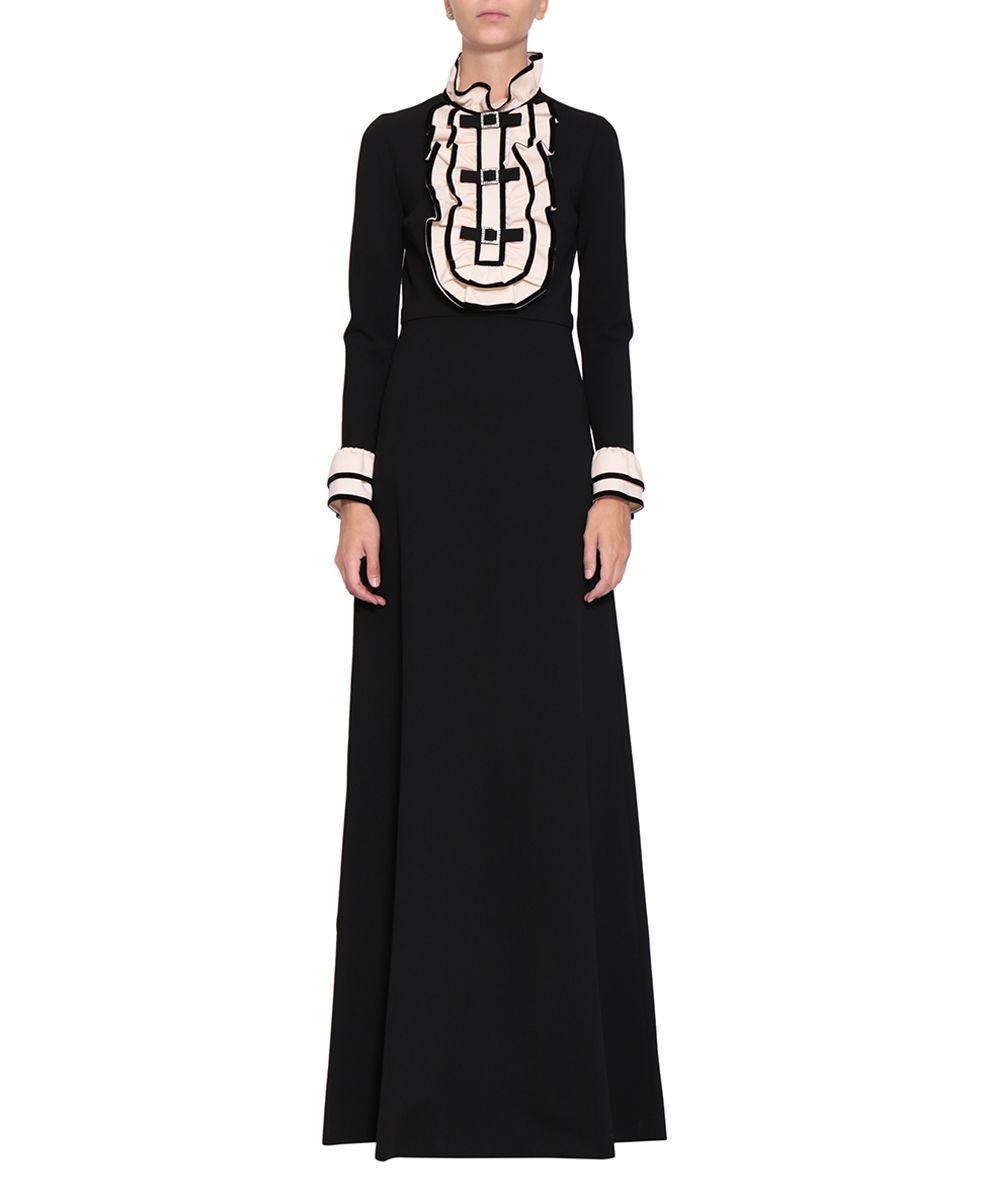 Gucci Ruffled Stretch-cady Dress