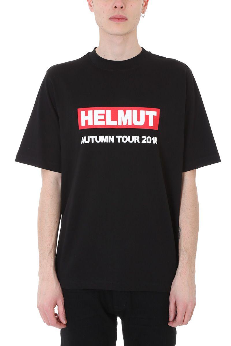 Helmut Lang Concert Black Cotton T-shirt