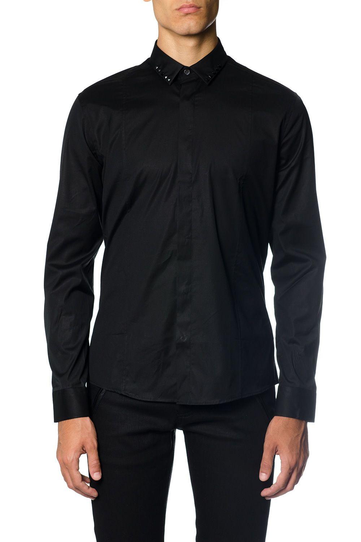 Les Hommes Metal Detail Shirt