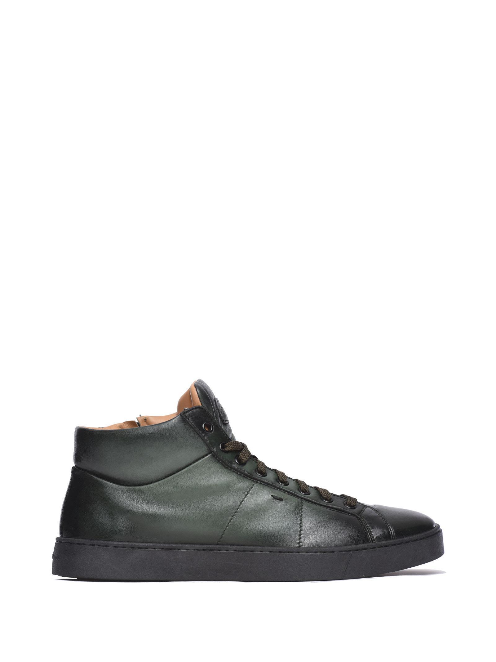 Santoni Green Sneaker