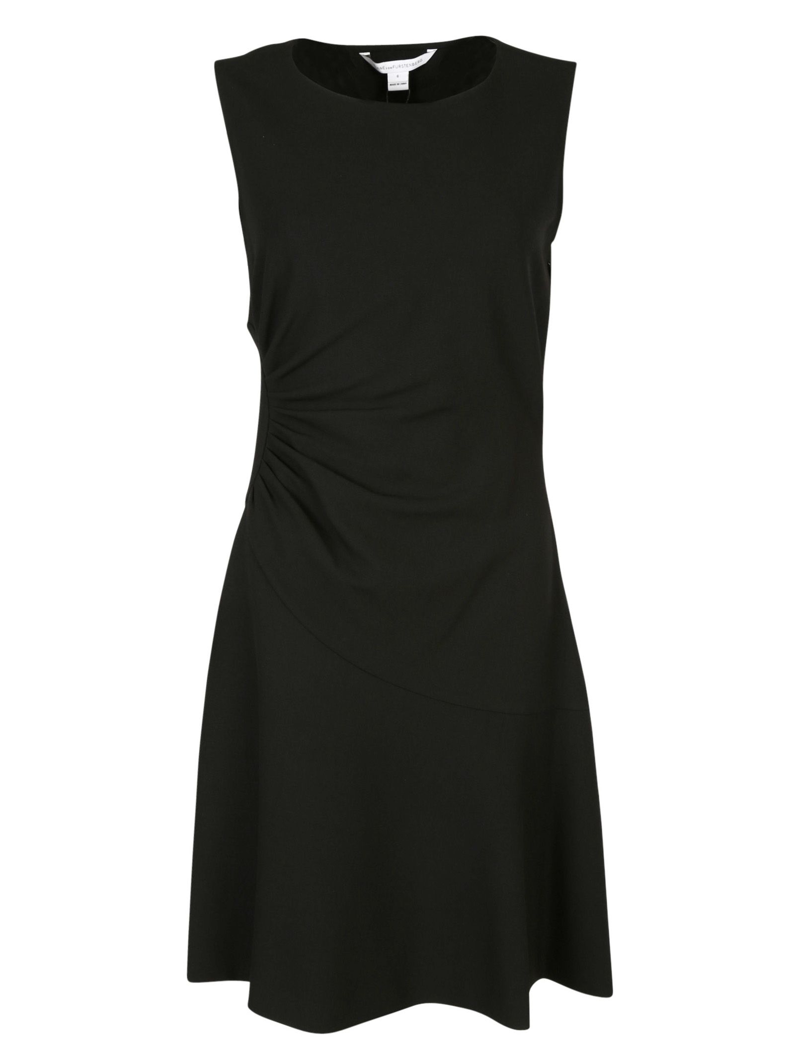 Diane Von Furstenberg Dayna Ruched Flare Dress