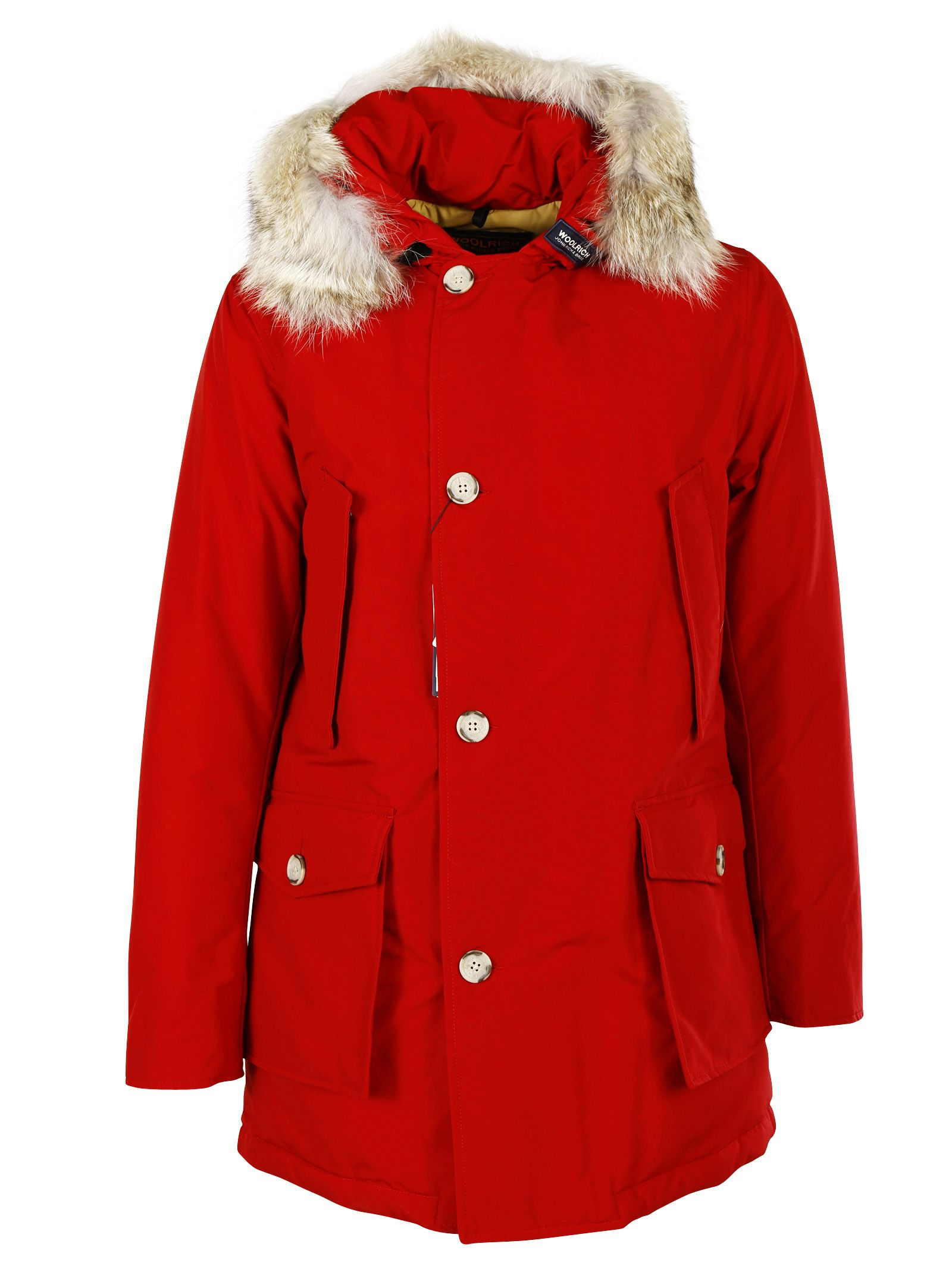 Woolrich Short Hooded Padded Coat
