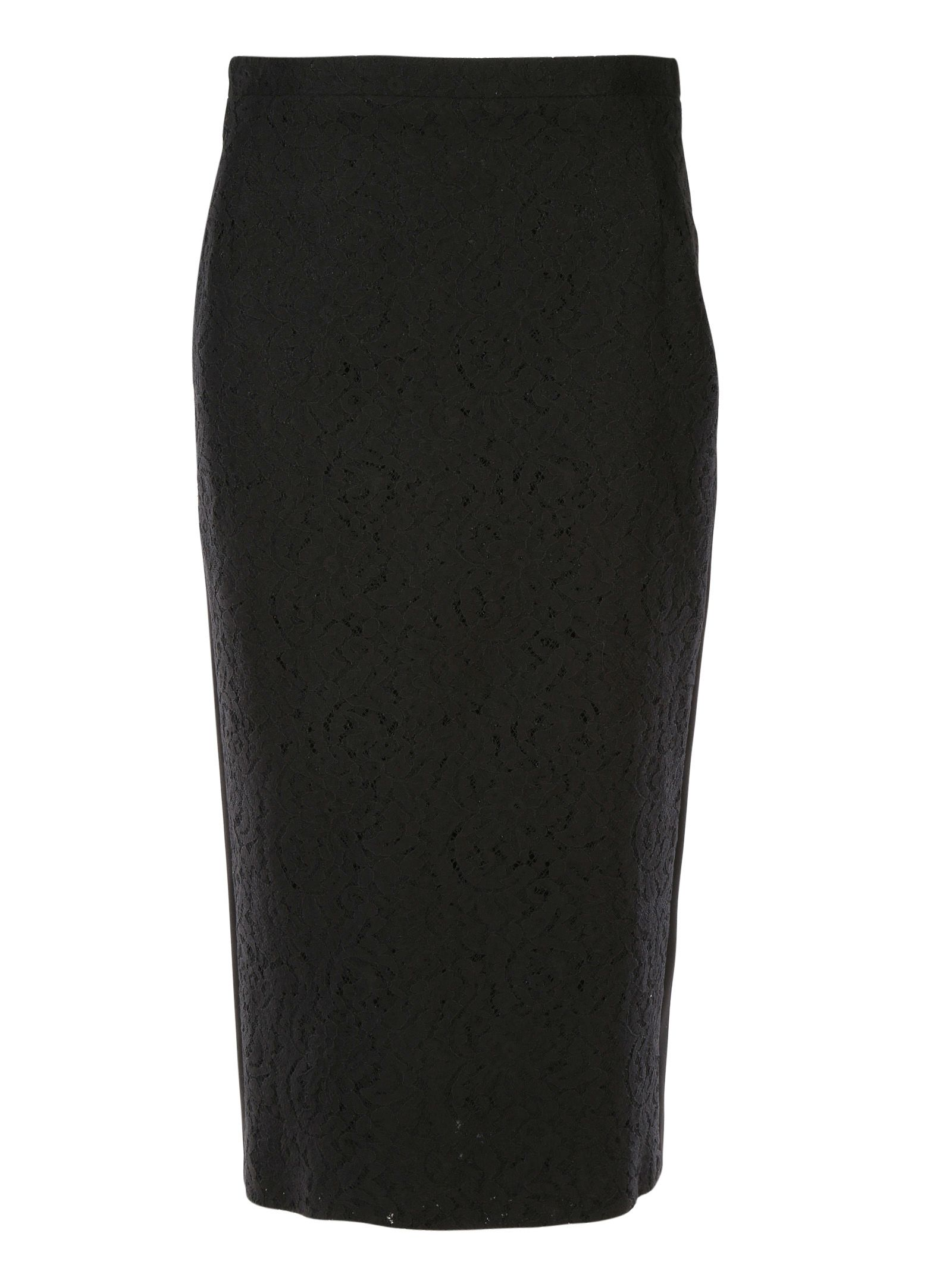 N°21 Lace Panel Pencil Skirt