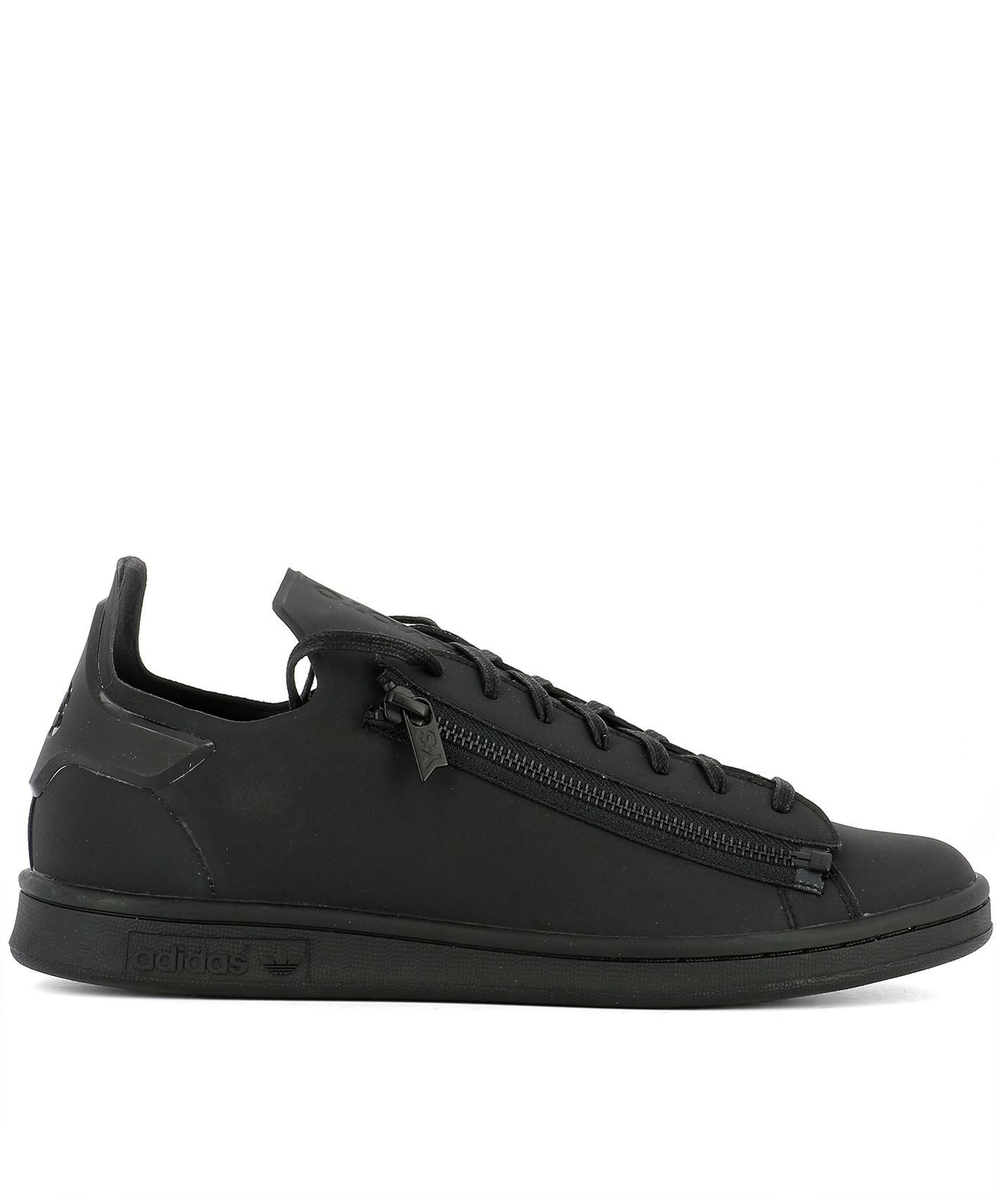 Black Fabric Stan Zip
