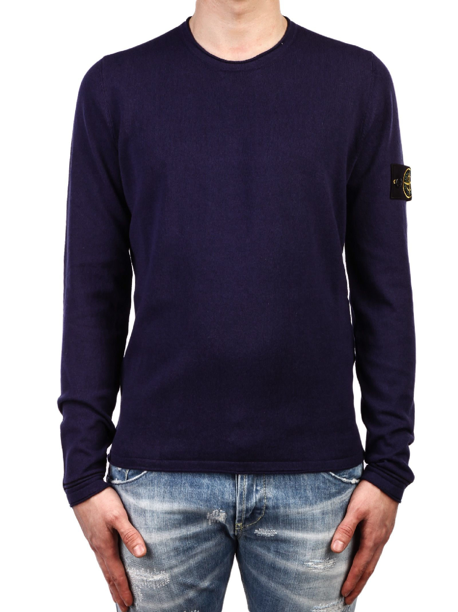 stone island stone island sweater blue men 39 s sweaters italist. Black Bedroom Furniture Sets. Home Design Ideas