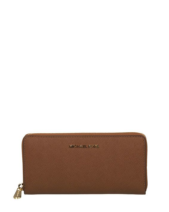 Michael Kors Wallet Jet Set Travel Saffiano Continental 9698374