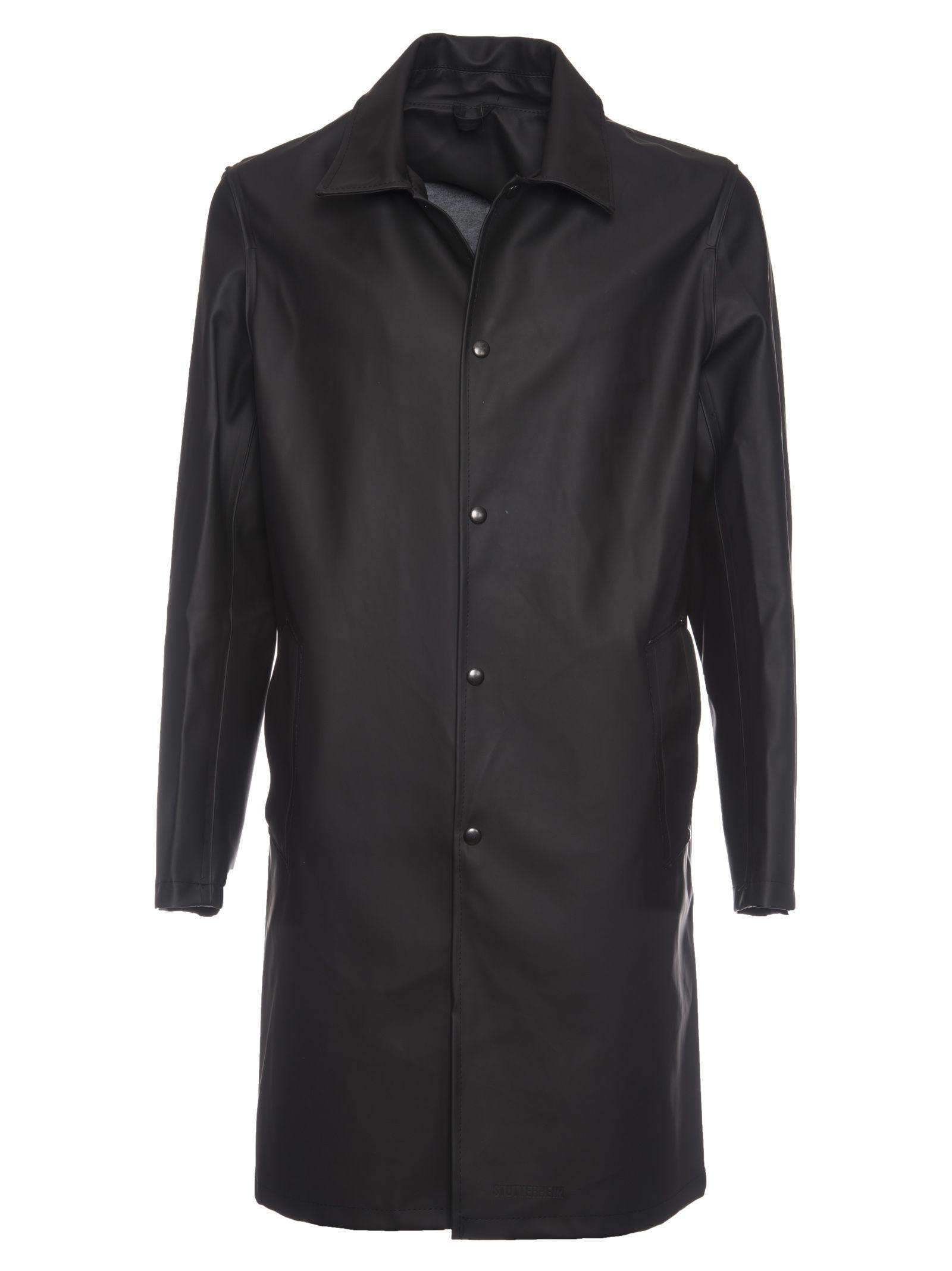 Stutterheim Single Breasted Coat