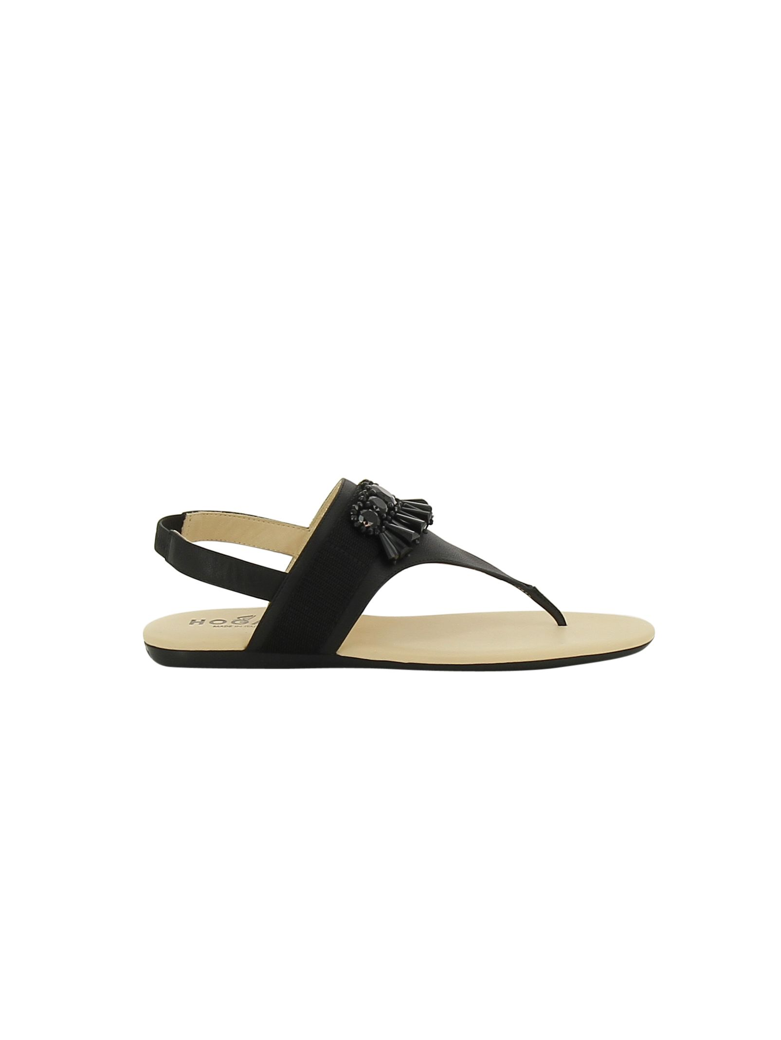 Hogan Valencia Flat Sandals