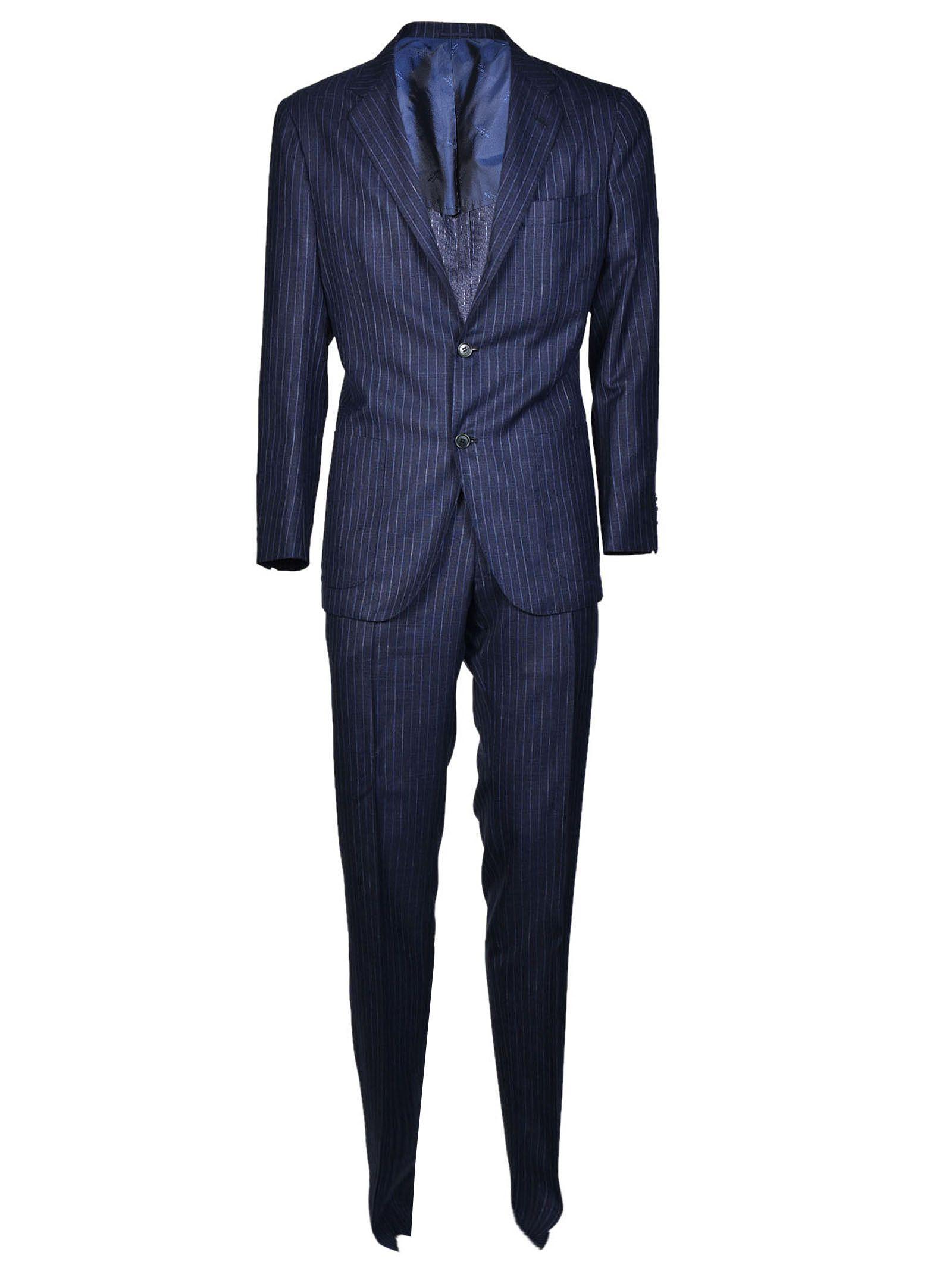 Kiton Pinstripe Suit