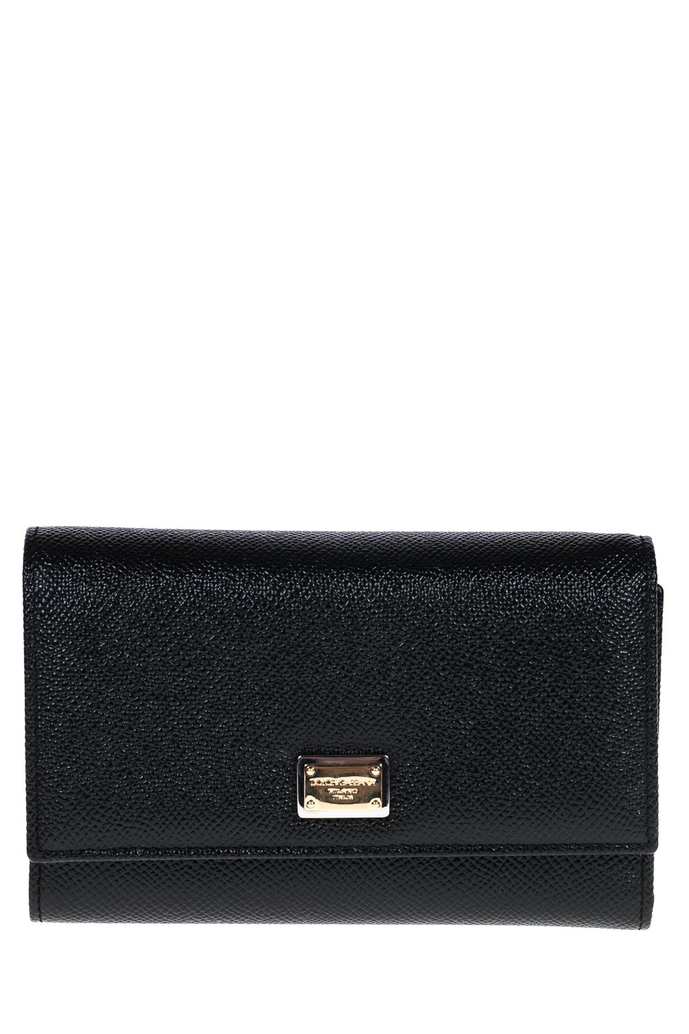 Dolce & Gabbana Medium Leather Wallet With Flap