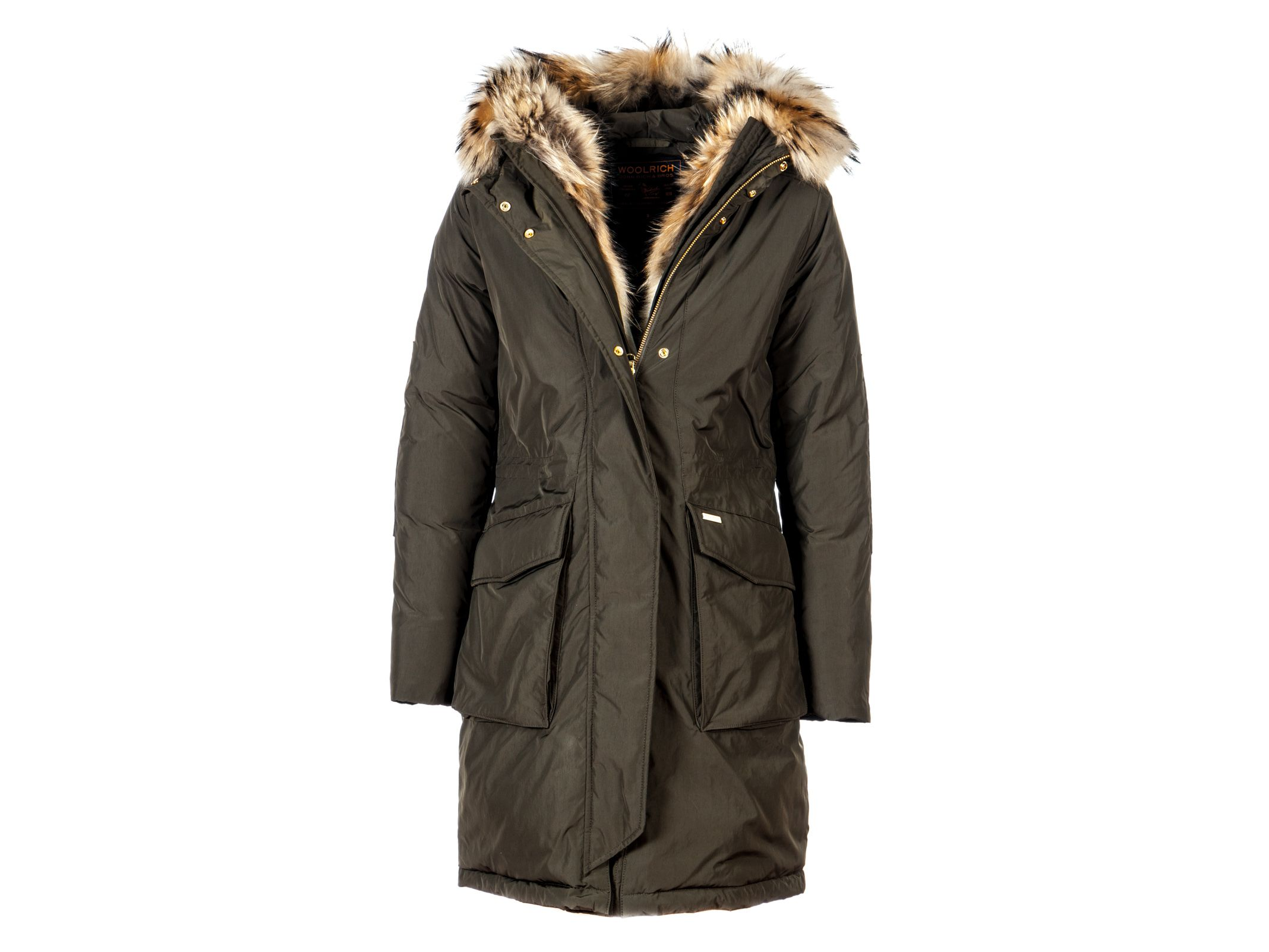 woolrich woolrich hooded military parka military green. Black Bedroom Furniture Sets. Home Design Ideas