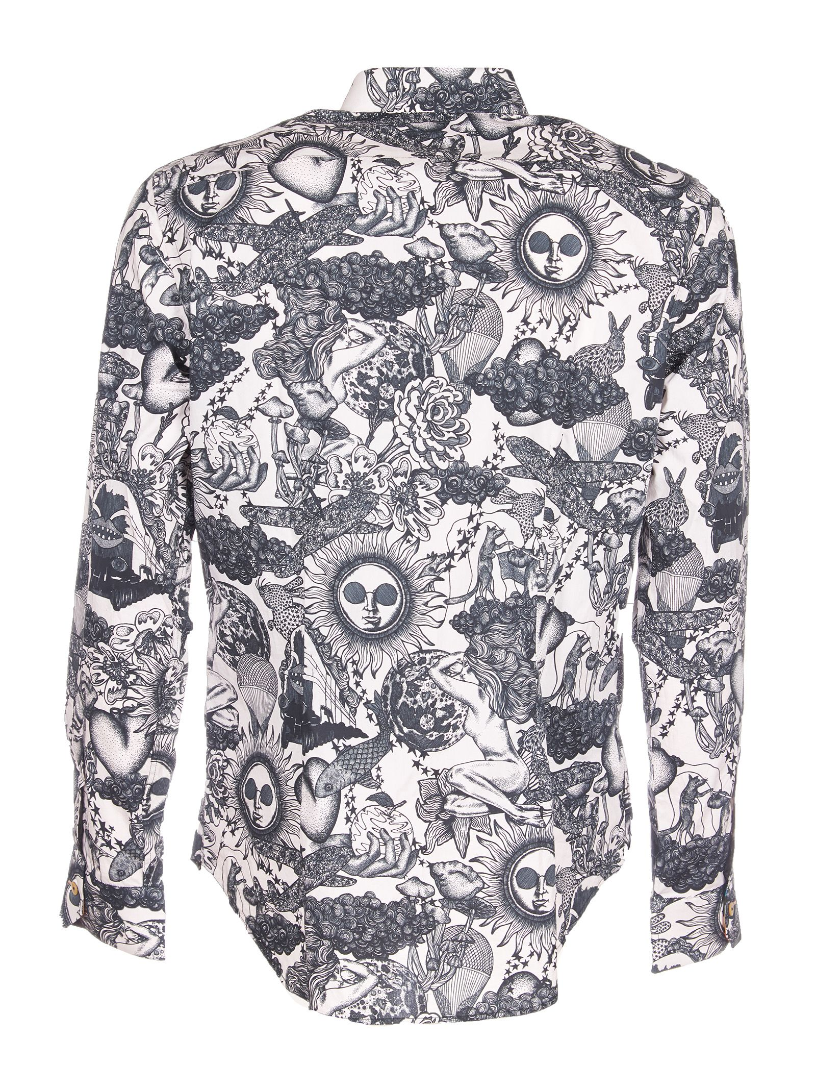 Paul Smith Large Sun Print Shirt