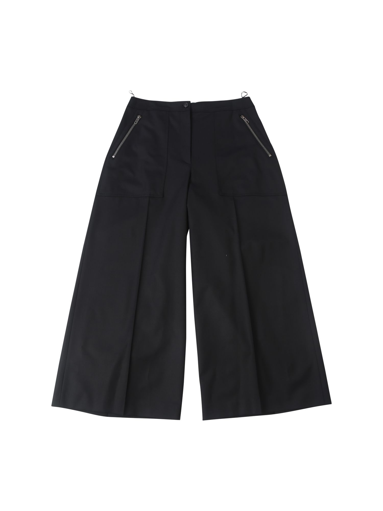 Blend Wool Tailored Culottes