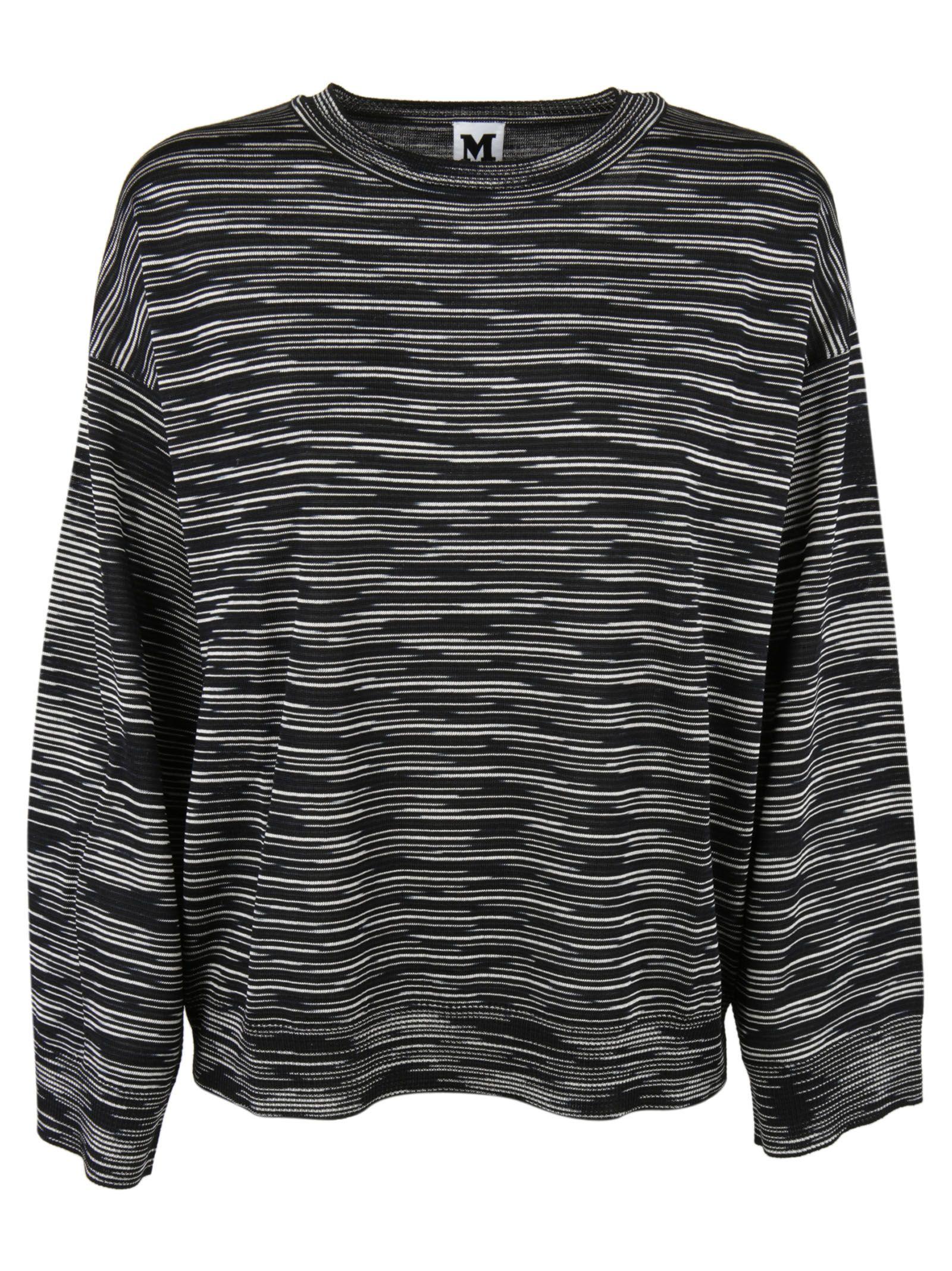 Missoni - Missoni Round Neck Sweater - Black/White, Women's ...