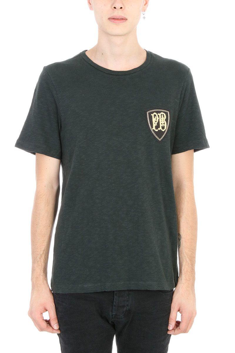 Pierre Balmain Logo Dark Green T-shirt