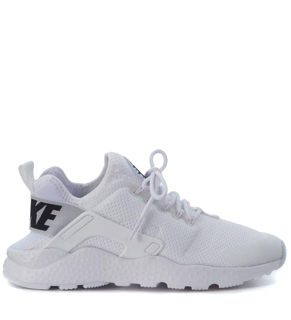 Sneaker Nike Air Huarache Run Ultra In Tessuto Bianco