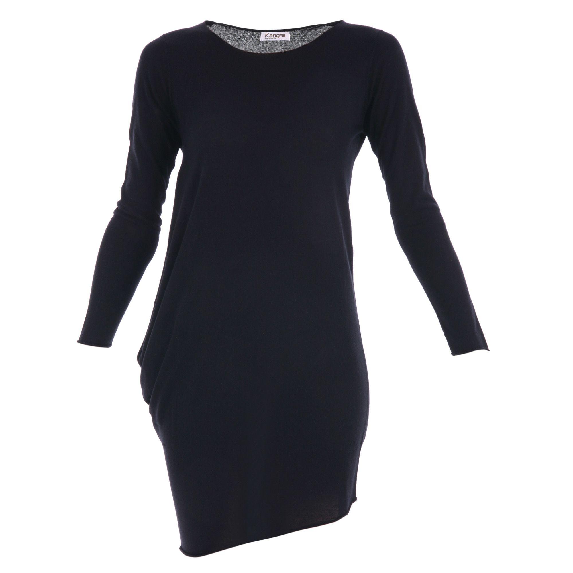 Kangra Cashmere Asymmetric Silk-cashmere Dress